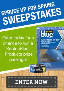 Reminder: Did You Enter Today? 3M DIY Spruce up for Spring Sweepstakes